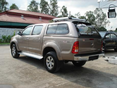 canopy new Toyota Hilux Vigo Double Cab at Thailand's top Toyota Hilux Vigo dealer Sam Motors Thailand